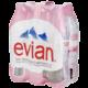 Eau Evian 1L 6