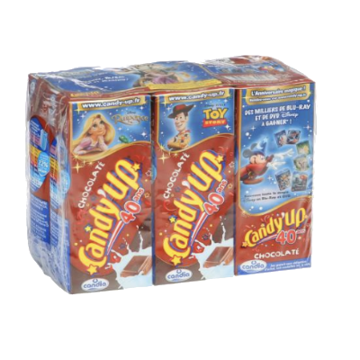 Candyup Arme Chocolat 6X20CL