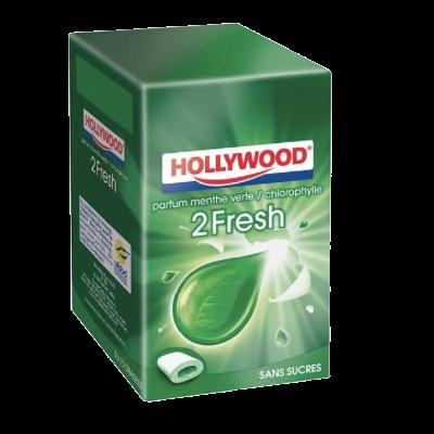 Hollywood Menthe Verte sans Sucres