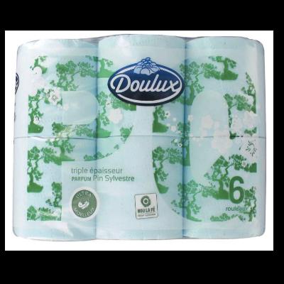 Papier Toilette Doulux 3 Plis Parfum Pin Sylves X6